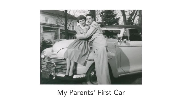 Son Pulls A Surprise From The 50s. Now Watch His Parents When They See It… Priceless!