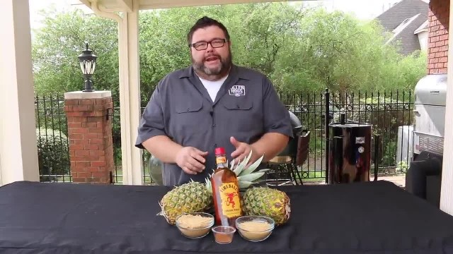 BBQ trend: Pineapple soaked in Fireball, yea or nay