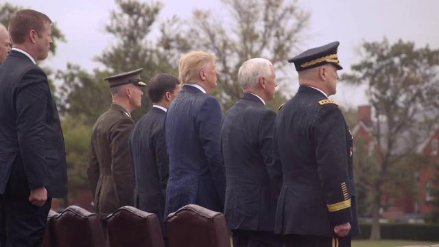 Ceremony in Honor of the Twentieth Chairman of the Joint Chiefs of Staff