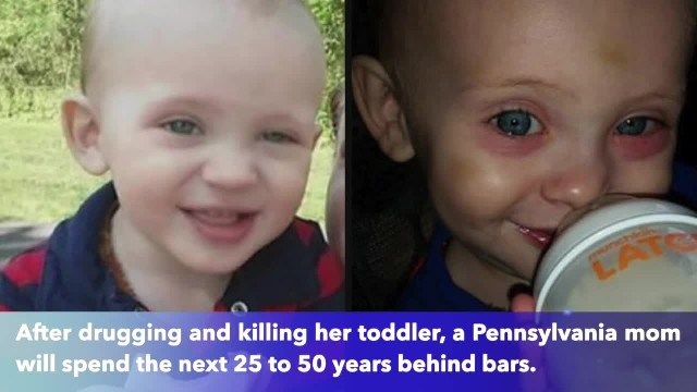 Sippy cup murder, mother puts lethal amounts of Vicodin, Benadryl in tot's drink, killing him