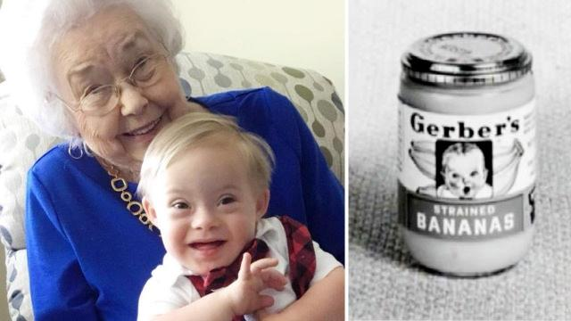 Original Gerber Baby, 91, Meets Newest One, Who Has Down Syndrome