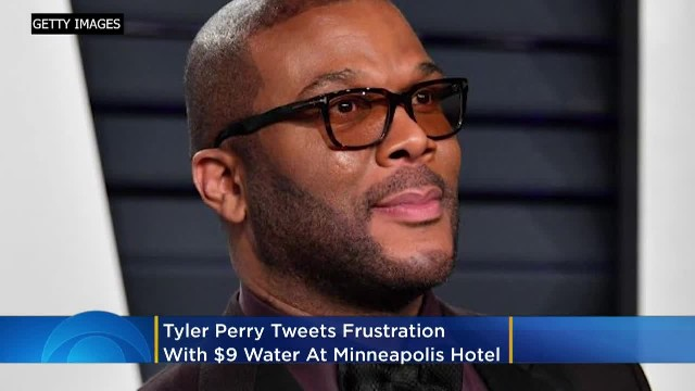 Tyler Perry loses his mind over $9 bottled water at Minneapolis hotel