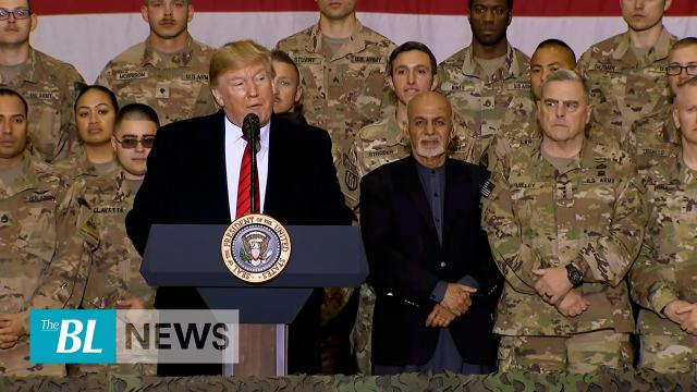 President Trump makes surprise visit to Afghanistan