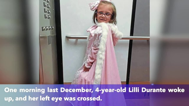 5-year-old girl wears a different princess gown for each treatment with chemotherapy
