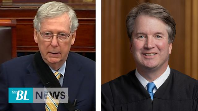 McConnell says Kavanaugh impeachment laughable-Supports Trump's call to release oil reserves