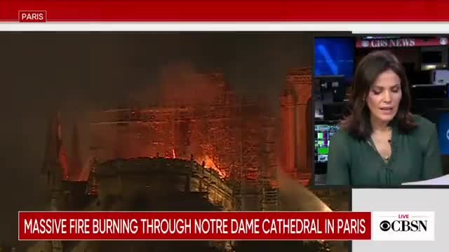 Despite fire, Notre Dame altar and crucifix still standing