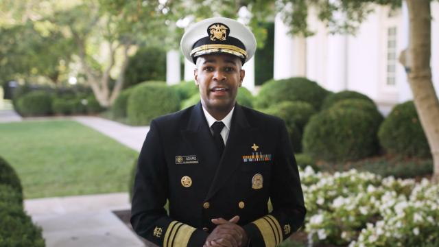 "U.S. Surgeon General: ""Get your flu shot"""