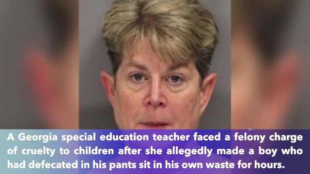 Special education teacher made boy, 5, sit in his own waste for hours to teach a lesson