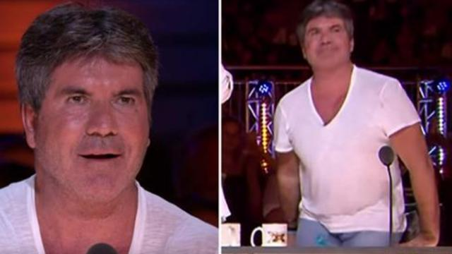 Simon Cowell holds his breath as she sings first 3 words – 1