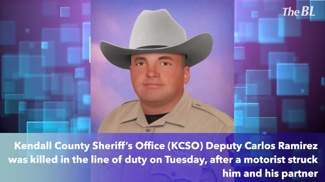 Kendall County Deputy killed by passing motorist during traffic stop on I-10!