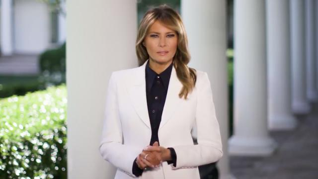 First Lady Melania Trump's message for national nurses day