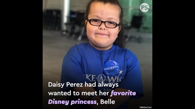 Girl With Dwarfism Dreams Of Meeting Belle, But Princess' Reaction Leaves Her In Tears