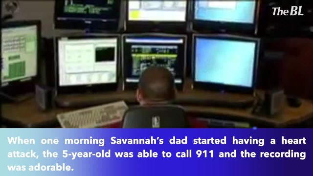 5-year-old girl calls 911 to save her father's life when he has a heart attack