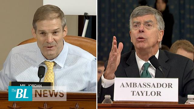 Jim Jordan Grills Star Witness in Impeachment Hearing