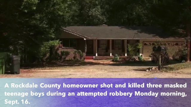 Georgia man shot, killed 3 masked teens who tried to rob him at his home, police say