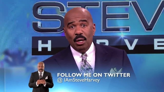 Steve Harvey has no clue who guest is but bursts into tears instant he spots sign in the back