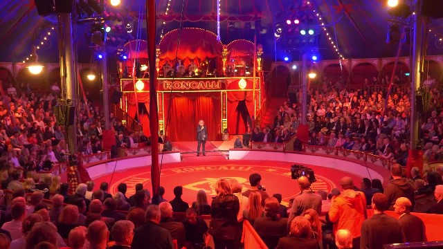 This German circus is such a stunning show, they use holograms instead of live animals