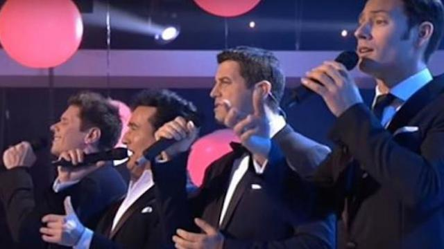 4 men perform stunning rendition of Dolly Parton classic. Halfway thru I'm covered in chills