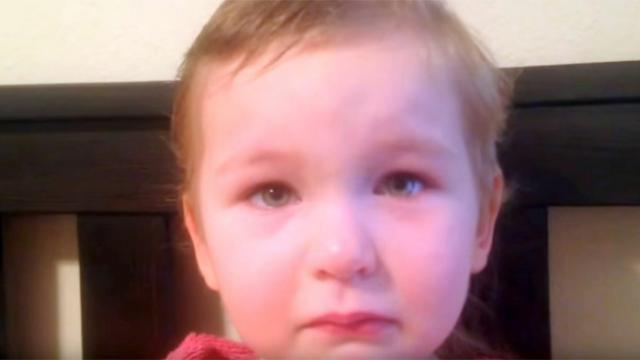 3-year-old gives dad captivating reason for cutting off all her