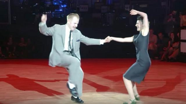 You're going to recognize their dance routine, but I guarantee you've never seen it like this
