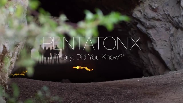 Pentatonix's Spine Tingling Version Of 'Mary Did You Know' Is Leaving Everyone Spellbound