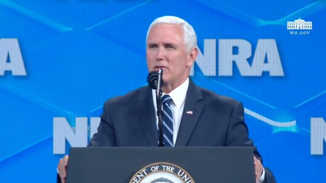 Vice President Pence Delivers Remarks at the National Rifle Association Forum