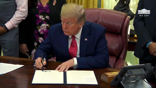 President Trump Signs an Executive Order
