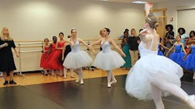 Mom finds baby she placed for adoption 17 years ago standing behind her daughter at dance class