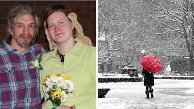 Homeless couple takes shelter from freezing temperatures at a church, then the pastor marries them