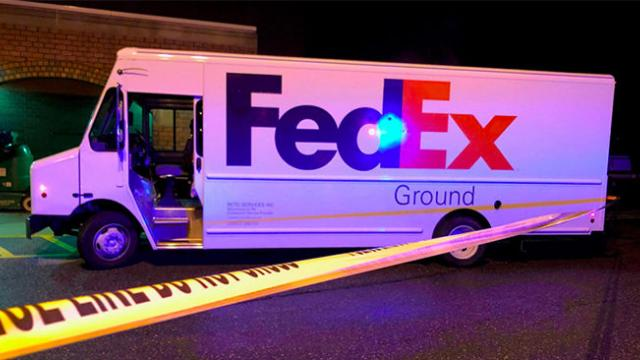 Wounded FedEx driver turns the tables and kills armed robber during a shootout in Philadelphia, poli