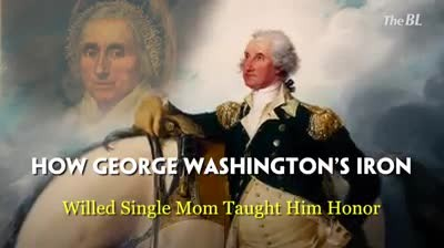 How George Washington's Iron-Willed Single Mom Taught Him Honor