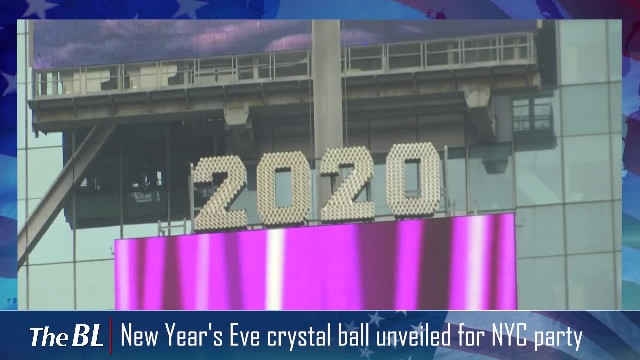 New Year's Eve crystal ball unveiled for NYC party