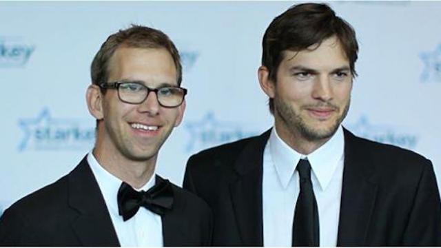 Ashton Kutcher almost made the ultimate sacrifice for his brother