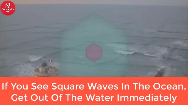 If You See Square Waves In The Ocean, Get Out Of The Water Immediately