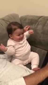 "Little girl is dancing to ""Baby Shark"" and her moves are like no other"