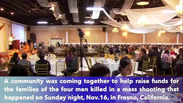 Community comes together support for victims' families after mass shooting in Fresno, California