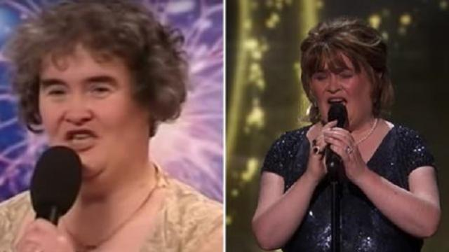 Susan Boyle Earns Golden Buzzer With Iconic -Wild Horses- - America's Got Talent- The Champions