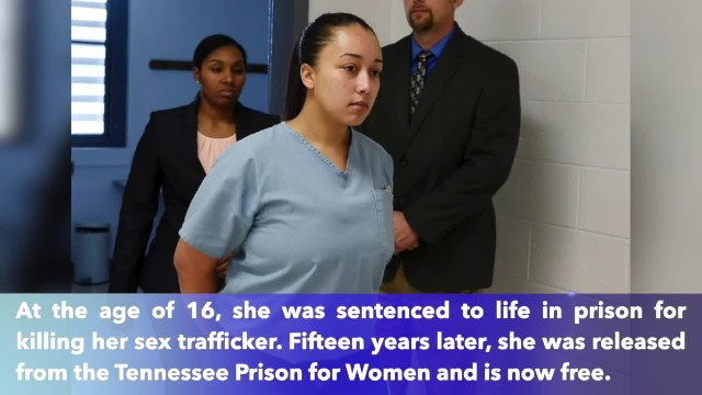 Cyntoia Brown, alleged sex trafficking victim who was convicted of murder, released after 15 years