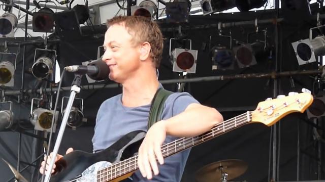 Gary sinise & The Lt.Dan Band in Okinawa -Purple Haze-