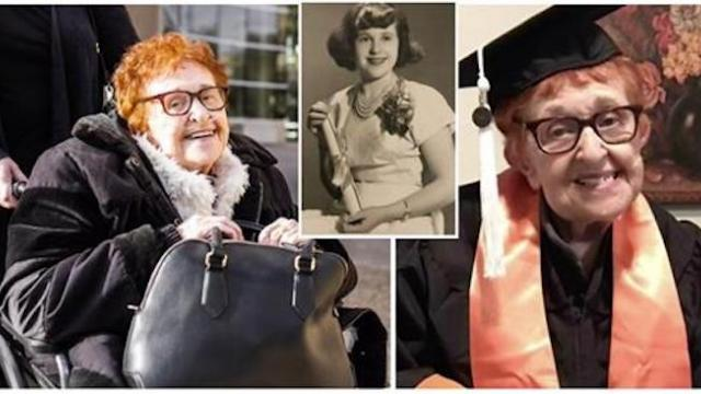 Grandmother of 8 proves age is just a number by finally getting her bachelor's degree at age 84