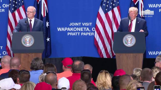 President Trump Delivers Remarks at Pratt Industries Plant Opening