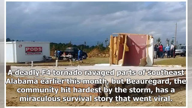 Prayer closet left standing after tornado demolishes rest of home. 'My God is awesome!'