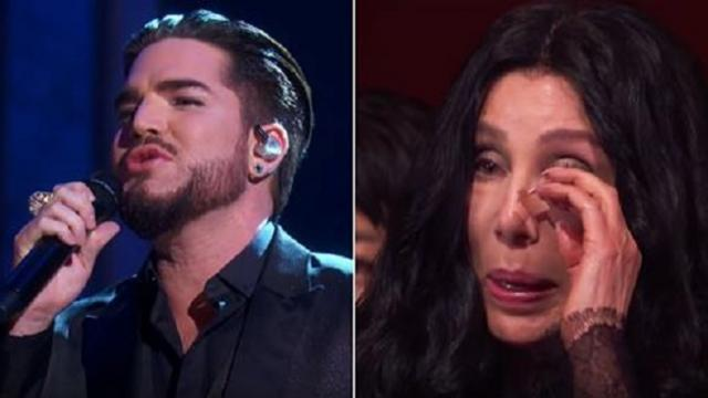 "Adam Lambert's cover of ""Believe"" was so stunning, it brought Cher to tears"