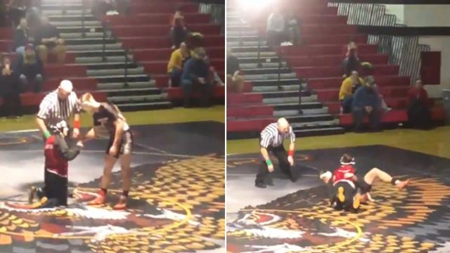 Why this wrestler let young boy with disability win match will warm your heart