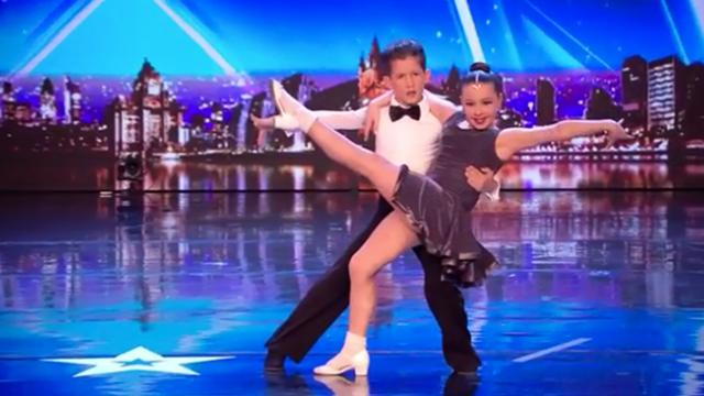 Young couple makes it to the Got Talent stage stuns judges with their brilliant ballroom dancing you