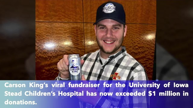 Viral Cy-Hawk sign surpasses $1 million in fundraising for children's hospital in Iowa city