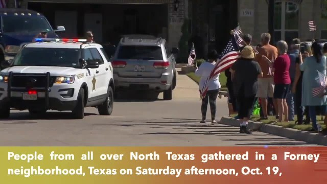 Dozens of North Texans honor Vietnam veteran with his final welcome home