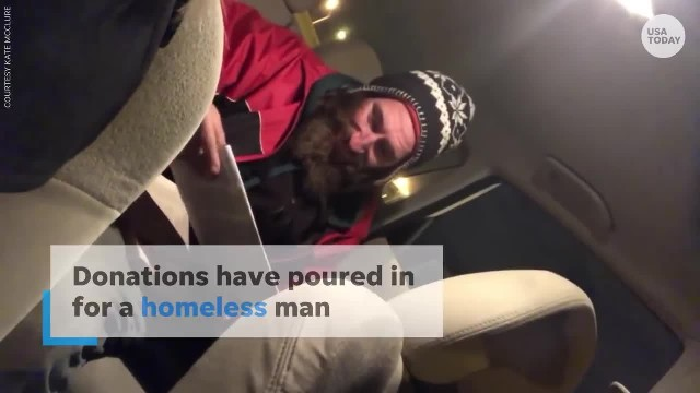 Homeless Veteran gives Woman with Car Trouble his only $20 and She Comes Back with $200,000