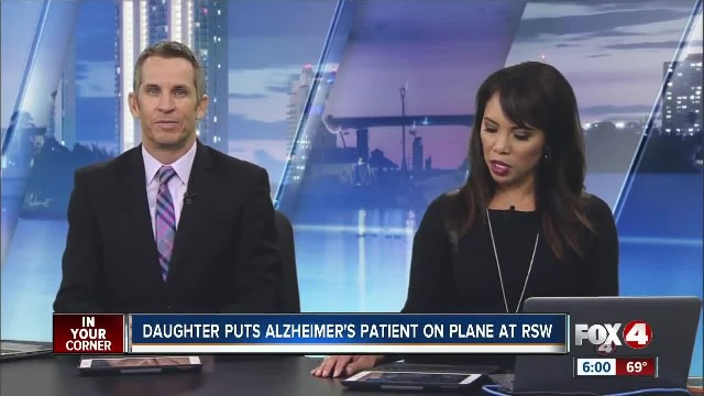 Alzheimer's patient from Southwest Florida found alone at Denver airport