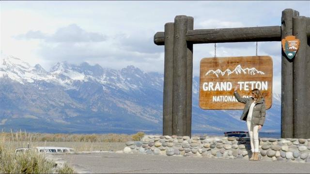 First Lady Melania Trump Visits Grand Teton National Park